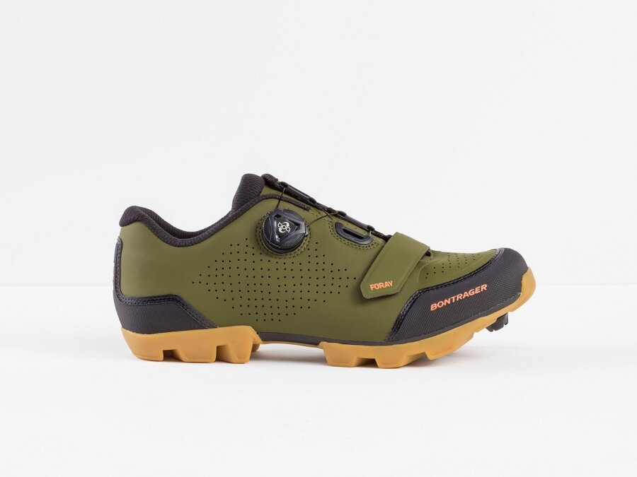 Bontrager Schuh Foray Men 46 Olive Grey